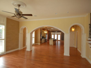 Interior wall and trim painting in Evansville & Newburgh, IN